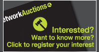 Register interest with Network Auctions